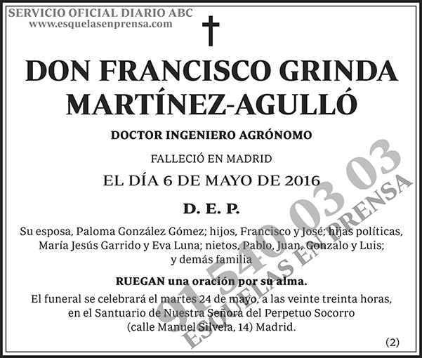 Francisco Grinda Martínez-Agulló